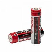 2 db Nexus tölthető AA elem akkumulátor 2600 mAh