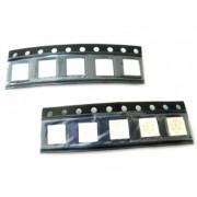 10 PZ Led SMD 5050 PLCC-6 Rosso Red 3V 0,2W 3 Chips