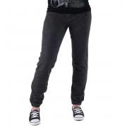kalhoty dámské (tepláky) CONVERSE - Awk GF Core Plus Slim - GREY/BLK - 11903C-003
