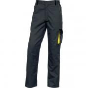 Pantaloni da lavoro Delta Plus - 401225 Pantaloni da lavoro in poliestere 35% cotone 235 g/mq taglia l di colore grigio/giallo in confezione da 1 Pz.