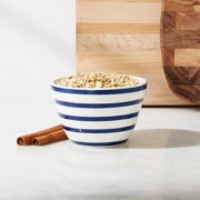 Avery Blue Stripe Mini Mixing Bowl