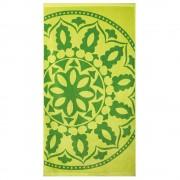 Mandala strand fürdőlepedő, zöld zöld 90x170