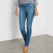 Slim jeans in stretch met normale taille, lengte 34