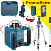BOSCH GRL 300 HV Nivela laser rotativa (300 m) + BT 300 HD Trepied + GR 240 Rigla