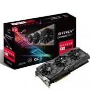 Видео карта AMD Radeon RX 580, 8GB, Asus ROG STRIX GAMING OC, PCI-E 3.0, GDDR5, 256-bit, DisplayPort, HDMI, DVI