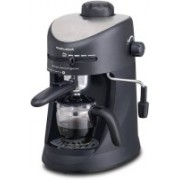 Morphy Richards New Europa Espresso/Cappuccino 4 Cups Coffee Maker(Black)