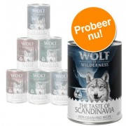 Gemengd pakket The Taste Of Wilderness Adult Hondenvoer - 6 x 400 g