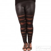 Legging F5005 LEATHERLOOK