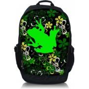 Laptop rugzak 17.3 inch groene kikker - Sleevy