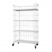 Bepurehome Kast trolley VT STOCK - Wit Wit