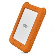 LaCie Rugged 1TB USB-C and USB 3.0 Portable Hard Drive + 1mo Adobe CC All Apps (STFR1000800)