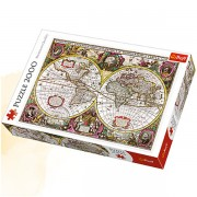 Trefl Puzzle Slagalica A New Land and Water Map of the Entire Earth 2000 kom (27095)