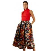 Closet London Rochie pentru femei Closet Gold Full Skirt Dress Red XXL