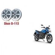 KunjZone Chrome Shon Horn Set Of 2 For Honda CB Unicorn