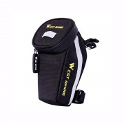 WEST BIKING Bicycle Saddle Tail Bag Waterproof MTB Road Bike Rear Seat Bag - Black