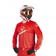 Hebo Trial Tech 10 Trial Jersey Rood - Rood