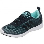 Adidas Women's Sky Blue Lace-up Running Shoes