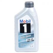 Mobil 1 TURBO DIESEL 0W-40 1 Litres Boîte