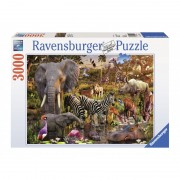 PUZZLE ANIMALE DIN AFRICA 3000 PIESE Ravensburger