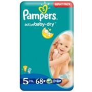 Pampers Active Baby Giant 5 Junior 11-18 kg x 68 buc
