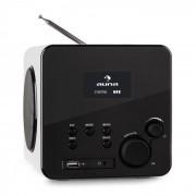 Radio Gaga Internetradio WLAN/LAN DAB/DAB+ UKW USB AUX weiß