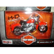 Maisto Harley Davidson Series 33 1958 Flh Duo Glide Red 1:18 Scale Cycle