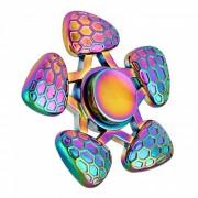 OJADE Rainbow Hand Spinner Fidget juguete del juguete del dedo - colorido