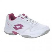 LOTTO Acuto tennisschoenen wit/roze dames