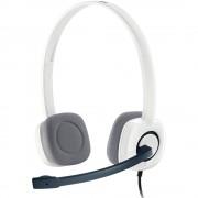 Casti Audio Stereo H150 Cu Microfon Alb LOGITECH