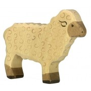 Holztiger Sheep Standing Toy Figure