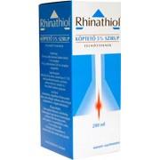 Rhinathiol köptető 5% szirup felnőtt 200ml *