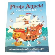 Educational Story Activity Book ~ Pirate Attack (2014; Swashbuckling Pirate Activities)
