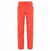 The North Face Womens Presena Pant Fire Brick Red The North Face Skidbyxa Dam