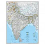 Harta India National Geographic