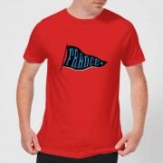 Football Camiseta Fútbol Francia Banderín France - Hombre - Rojo - S - Rojo
