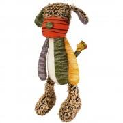 Perro de juguete Hunter Patchwork Hobbs para perros - aprox. 40 cm