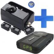 D4 Pro 4.03 + Kiyo GPS800 GPS (lézerblokkoló + detektor rejtőkészlettel)