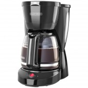 Cafetera Black + Decker CM0910BKD 12 Tazas-Negro