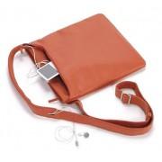 TUCANO BFICI-O :: Чанта за iPod / MP3 / GSM, Fina City, кожена, оранжев цвят