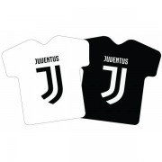 Juventus FC focimez alakú formapárna, 42x42 cm