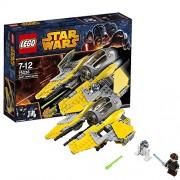 Lego Star Wars Jedi Interceptor, Multi Color