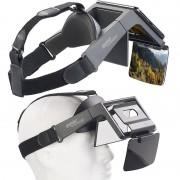 auvisio Augmented-Reality- und Video-Brille für Smartphones, 69° Sichtfeld