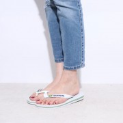 【SALE 20%OFF】ハワイアナス havaianas BRASIL LOGO (adult sizes) (white) レディース メンズ