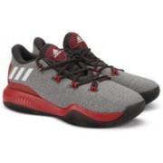 ADIDAS CRAZY FIRE Basketball Shoes For Men(Grey)