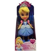 "Disney Princess Poseable Cinderella Sparkle Collection Mini Toddler Doll 3"""