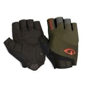 Giro Bravo Gel handschoenen - Olive/Deep Orange