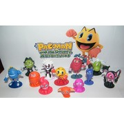 Pac-Man and the Ghostly Adventures Deluxe Figure Set Toy of 12 with PacMan, the 4 Ghosts, Lord Betrayus, President Spheros and Many More! by Pac-Man