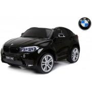 Mașină electrică BMW X6 M, 2 locuri, 12V, frână electrică, telecomandă de 2,4 GHz - neagră