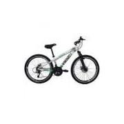 Bicicleta Tuff25 Freeride Aro 26 Freio A Disco 21 Velocidades Câmbios Shimano Branco/verde - Vikingx
