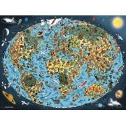 Puzzle Ravensburger - Lumea Animata, 1.500 piese (16360)
